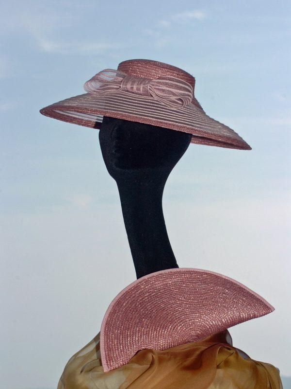 """Chapeau de cérémonie petit «New-look"""""""