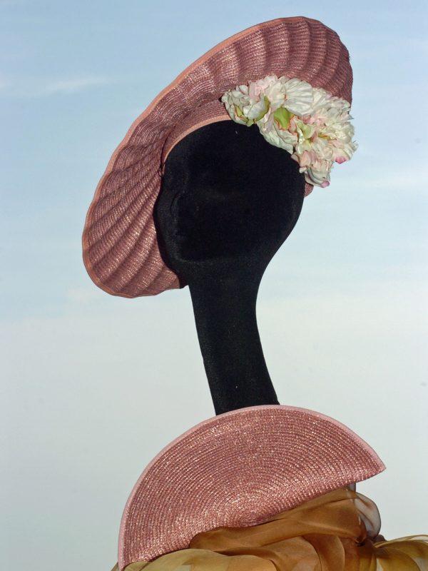 """Chapeau de cérémonie """"Coquillage 2"""""""
