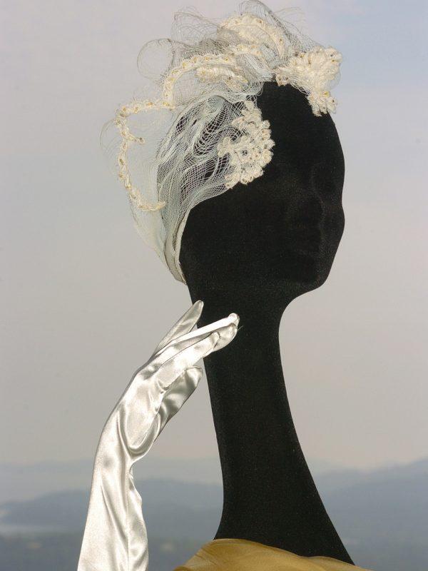 Bijou de tête de mariée «Précieux»