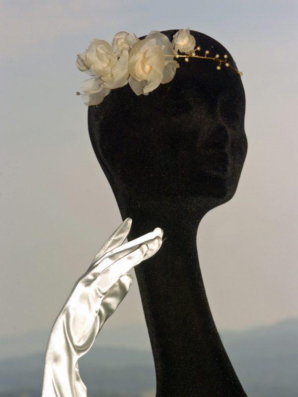 Bijou de tête de mariée «Délicat»