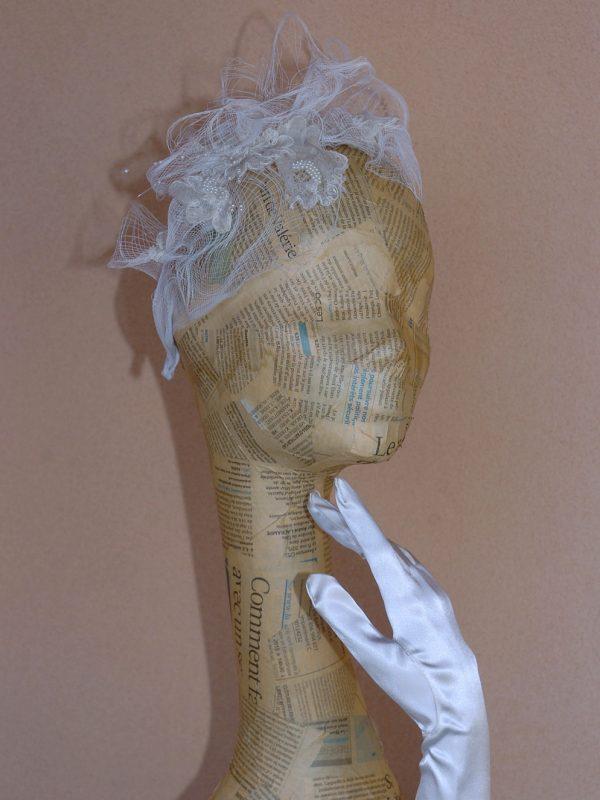 Bijou de tête de mariée «Jeune fille en fleur»