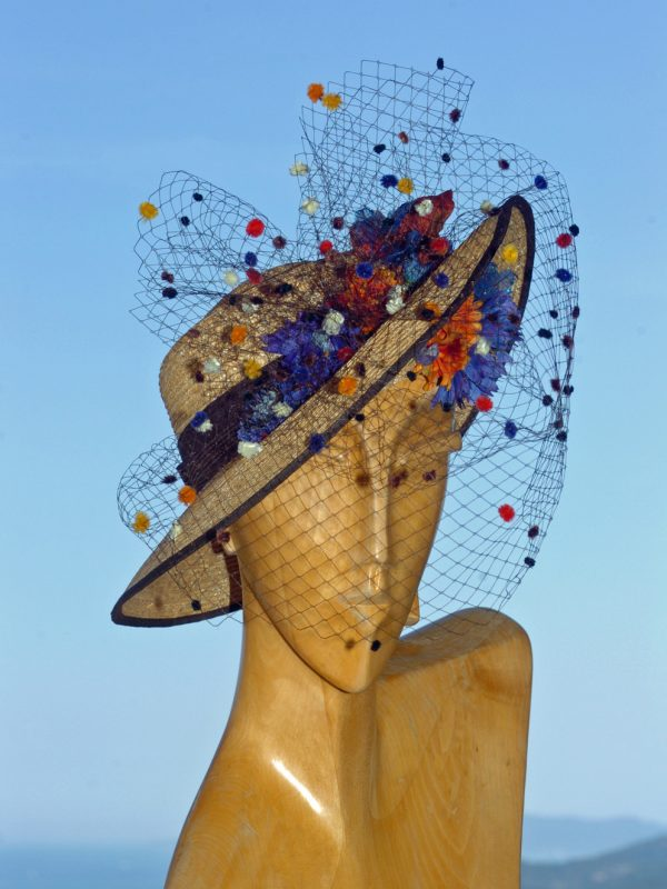 """Chapeau de cérémonie """"Tralala"""""""