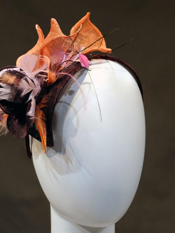Bibi sisal et plumes